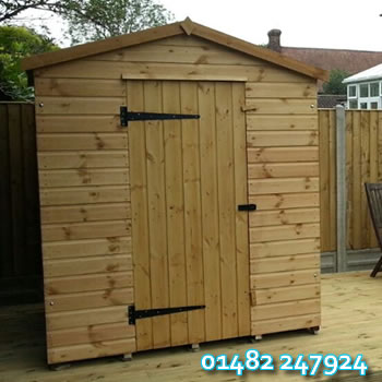 Apex Garden Shed in Hull