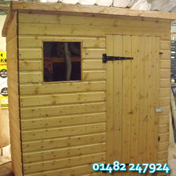 Pent Garden Sheds in Hull