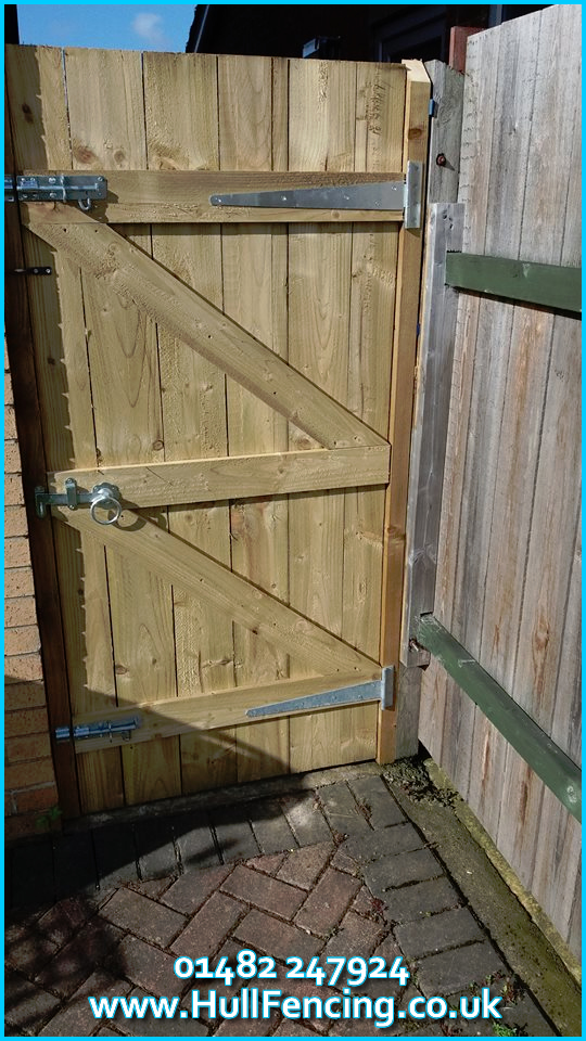 We Supply Install And Deliver Garden Gates In Hull